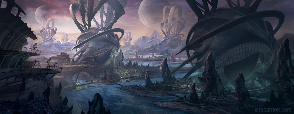 Alien world