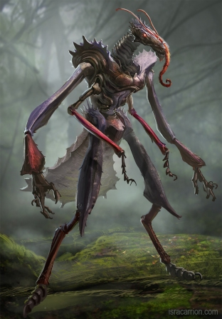 Insect creature